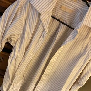 MICHAEL Michael Kors men's L 16-16.5 dress shirt